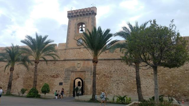 Ruta en bici entre Torrellano y Santa Pola