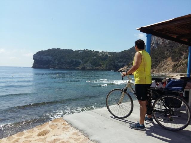 Marina Alta en bici
