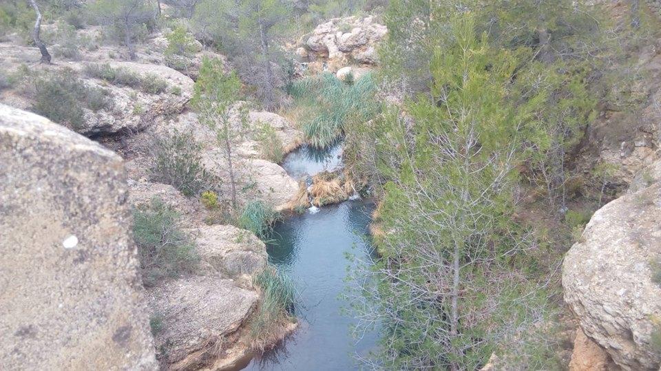 Pozas rio Mijares 1