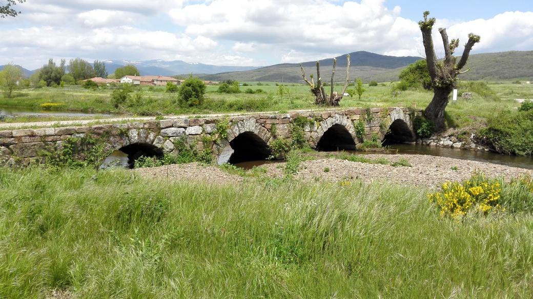 Puente Romano en Aguilar de Campoo