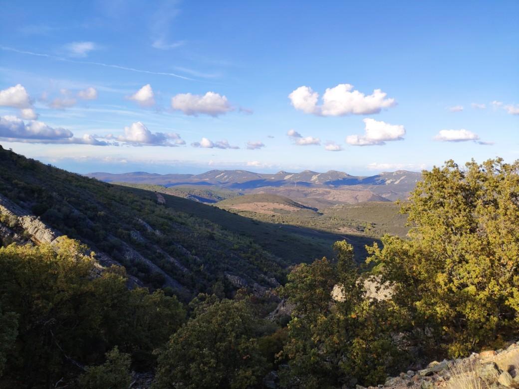 Sierra de Valdelacasa desde el Alto del Hospital