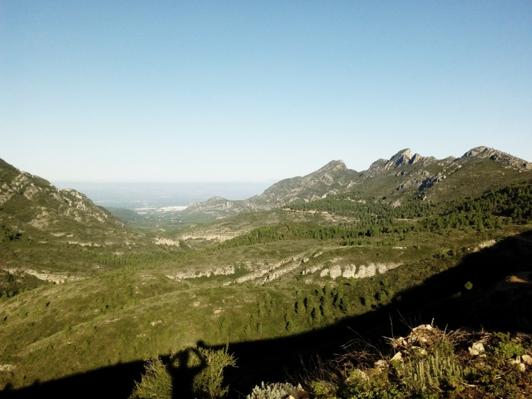 Panorámica Vall de la Casella